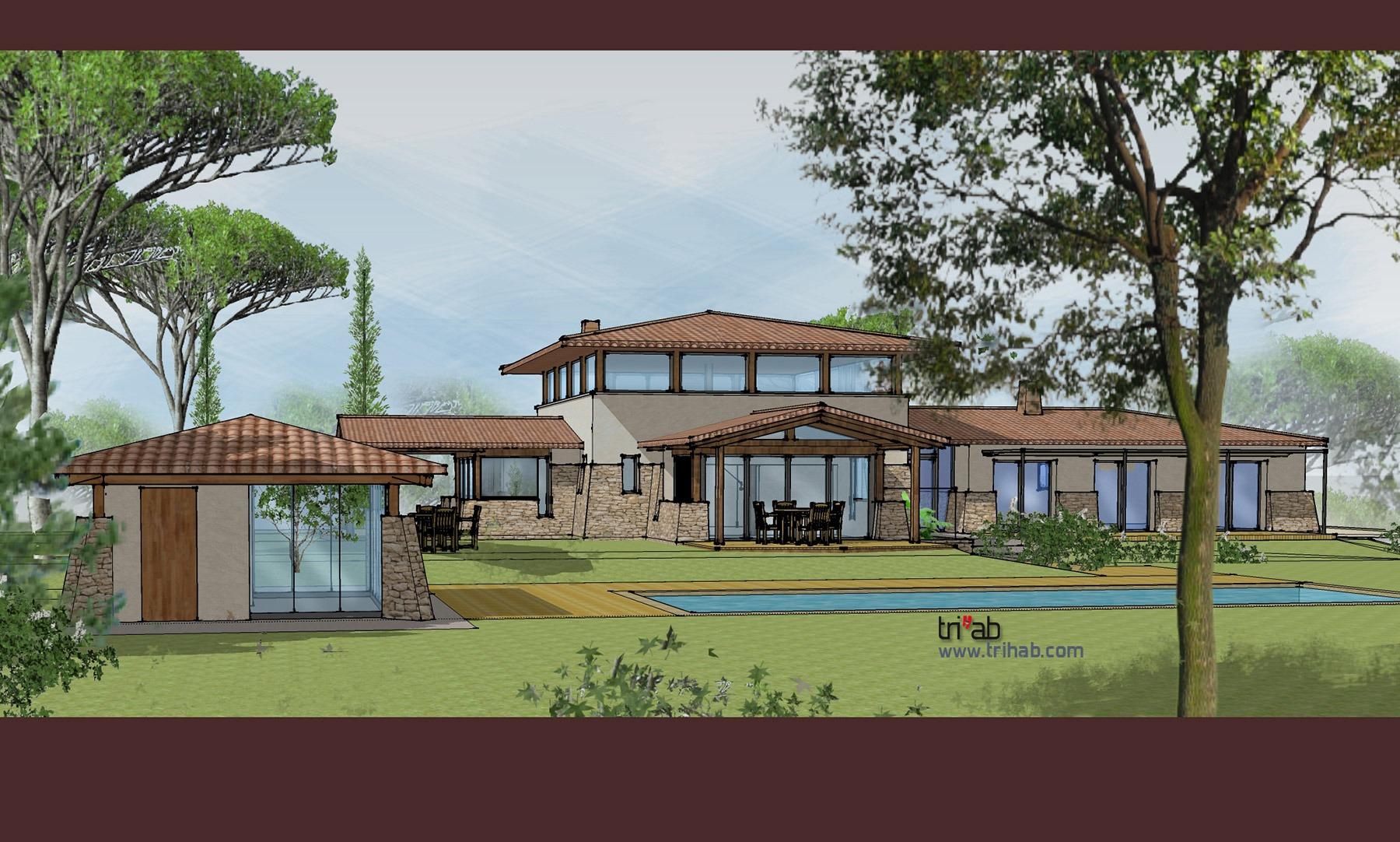 Coté Pool-house