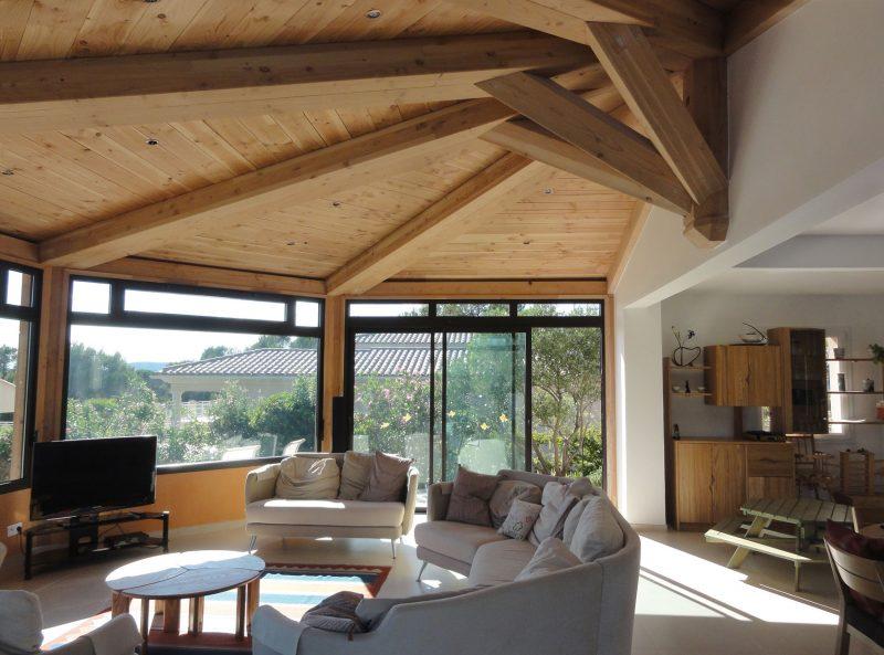 Extension en Provence Rotonde
