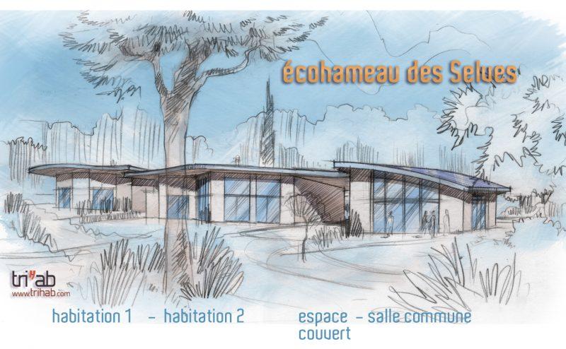 Projet – Écohameau des Selves – Seillans – 83