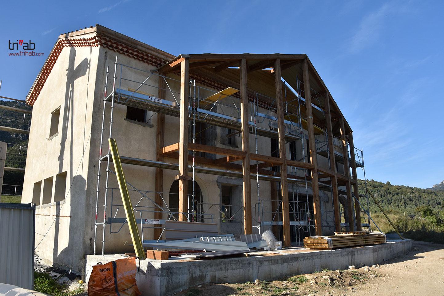 Grosse rénovation pour la maison du directeur
