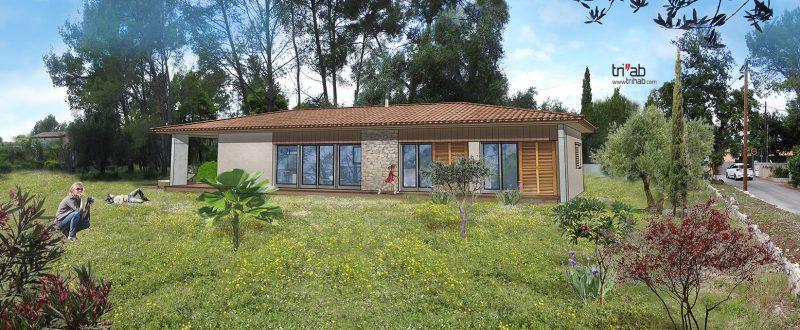 2 Versions d'une maison à Mouans Sartoux 06
