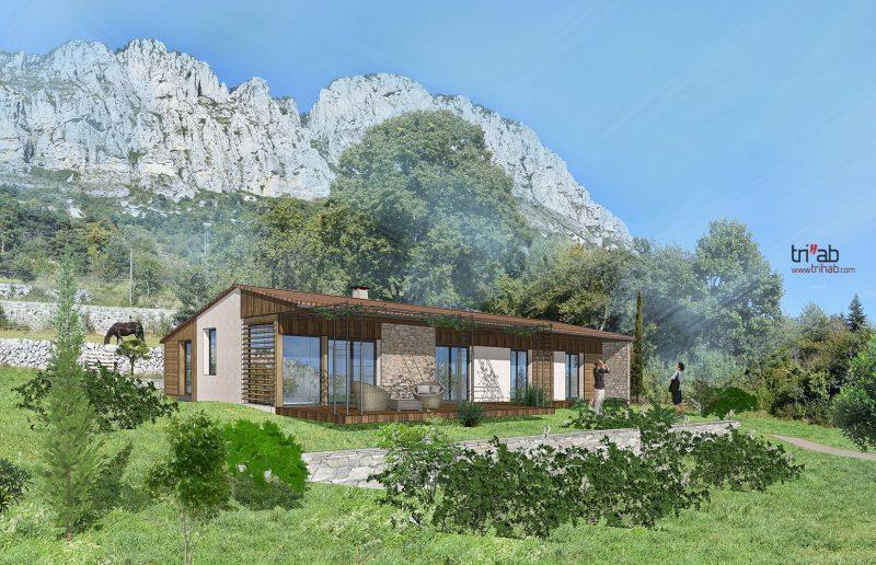 Maison en Provence à 1200m d'altitude
